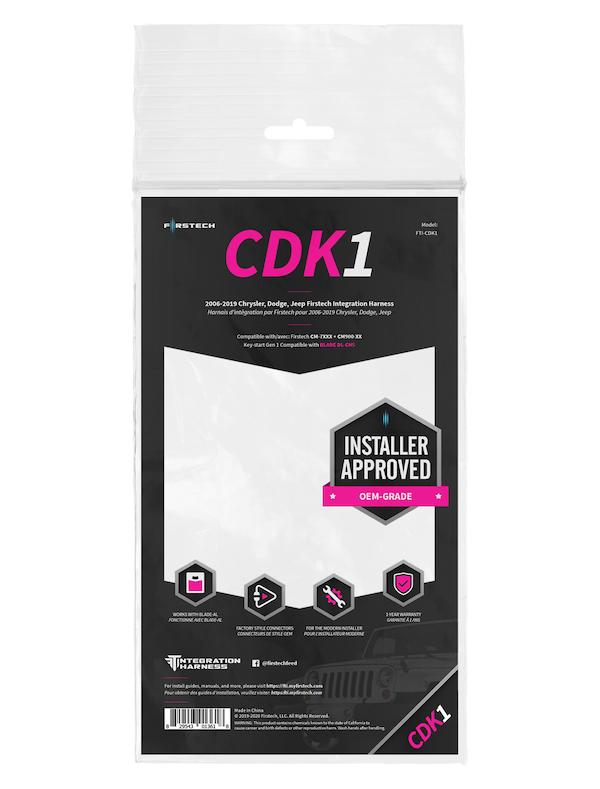 CDK1 FTI-CDK1 Firstech Integration Harness